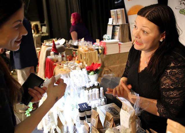 Vegansk Julefestival 2015 Schneider Urt Urtekosmetikk