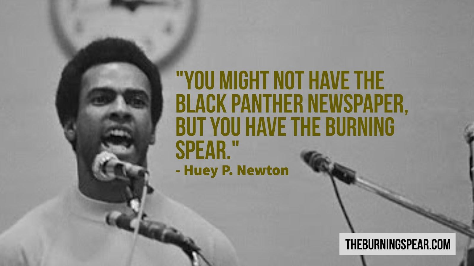 African History Month SPOTLIGHT: Huey P. Newton
