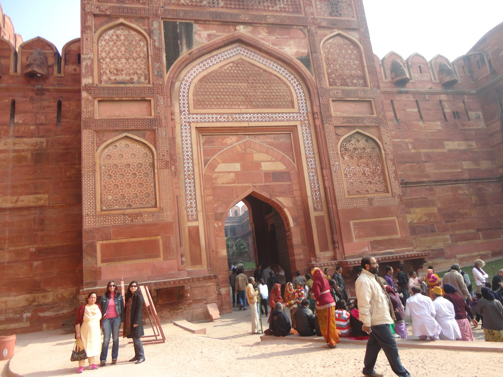 Second gate of Agra fort Agra