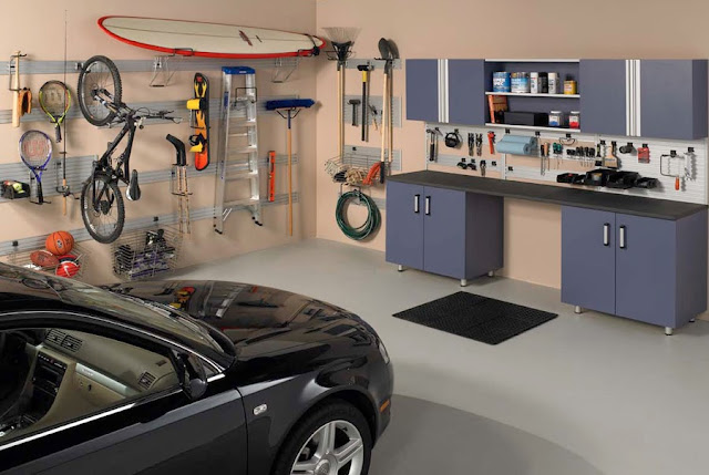 Oraganized Garage