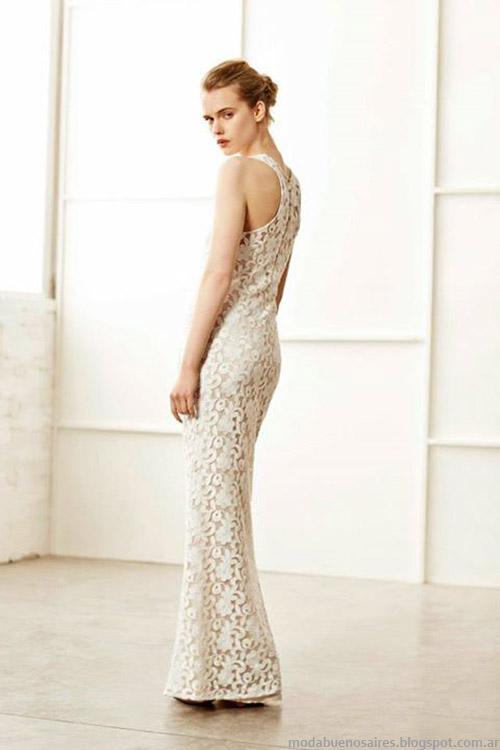 Paula Cahen D'Anvers primavera verano 2015 moda verano 2015 vestidos largos.
