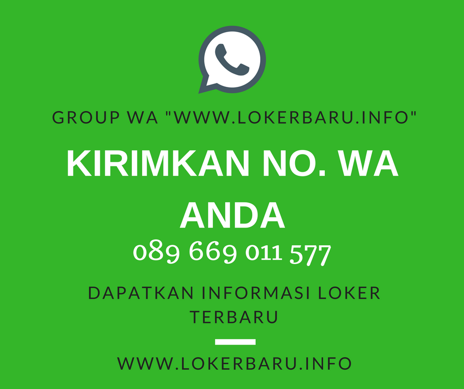 JOIN KE GROUP WA