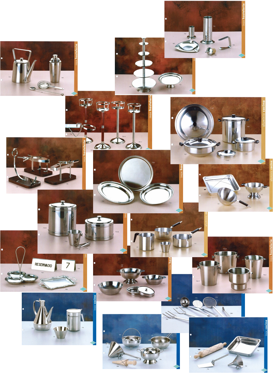 Despatx import export esp complementos para hotel y for Complementos cocina