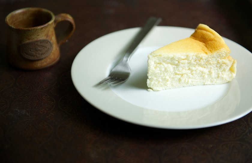 Gluten Free Quark & Sour Cream Baked Cheesecake