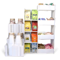 Organize Your Condiments With Executive Condiment Racks