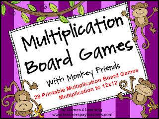 https://www.teacherspayteachers.com/Product/Multiplication-236663