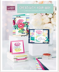 STAMPIN UP 2017/18 ANNUAL CATALOGUE