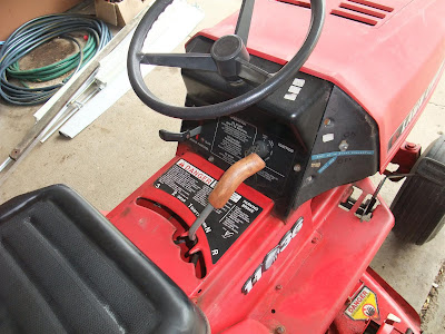 new homemade shifter handle, riding mower