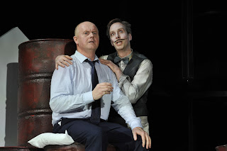 Mark Le Brocq, Matthew Hargreaves - Biedermann and the Arsonists - Independent Opera - (c) Robbie Jack.jpg
