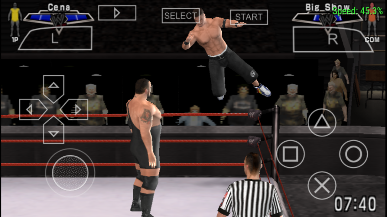 PC GAMES BEST WWE SmackDown Vs RAW 2007 PSP FOR ANDROID GAMES