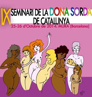 IX Seminari de la Dona Sorda de Catalunya