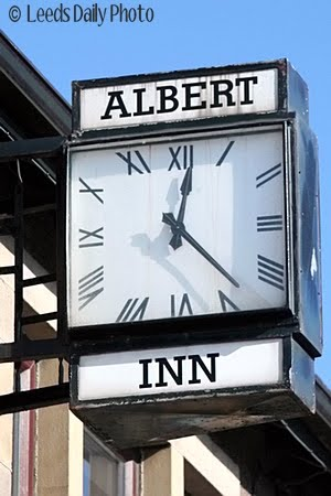 Albert Inn Clock Yeadon