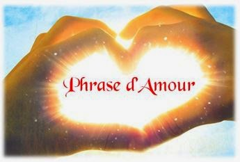 Phrase d'amour blog