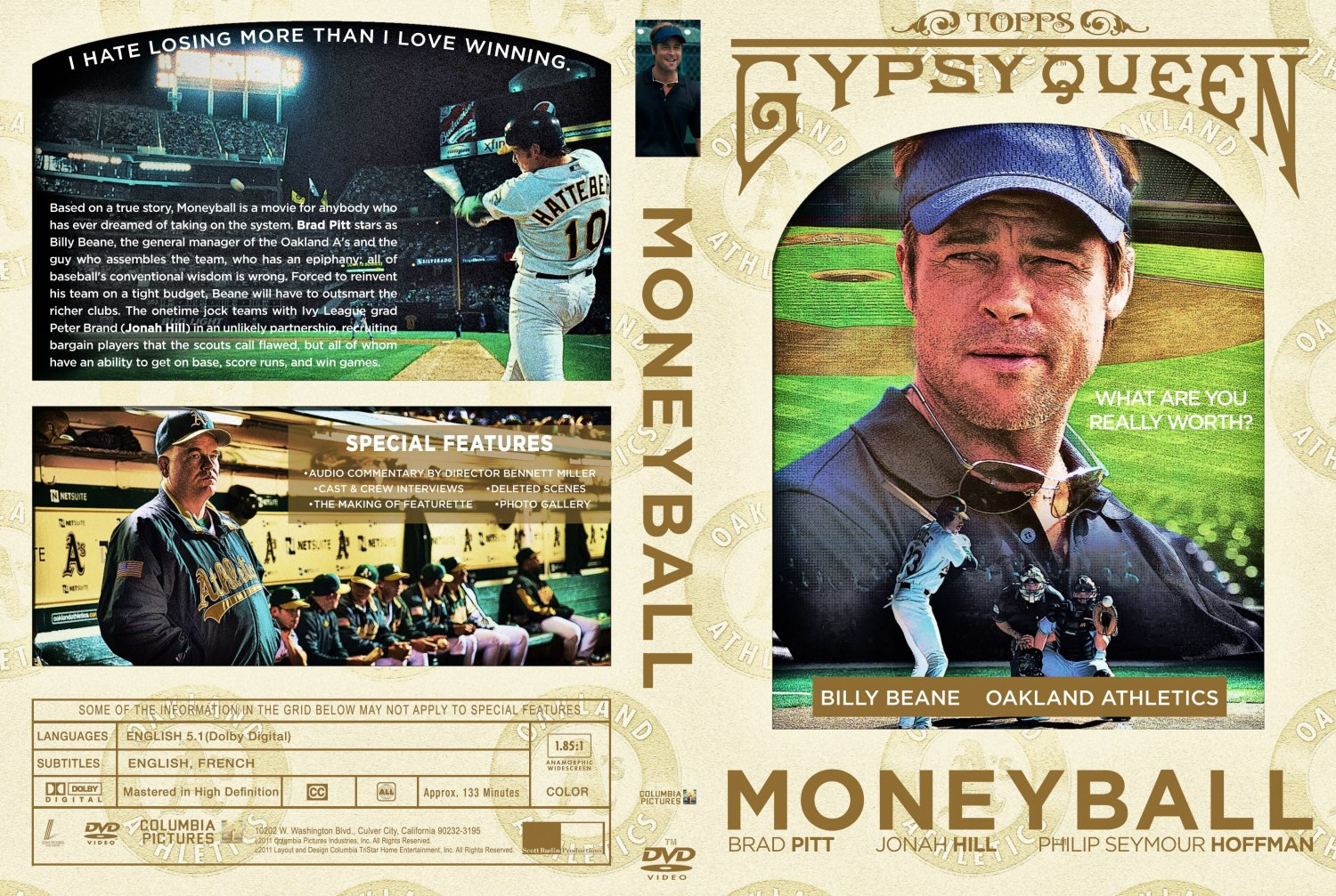 case analysis moneyball Chapter 52 case study: moneyball moneyball: the art of winning an unfair game is a book by michael lewis about the oakland athletics baseball team and its general manager, the person tasked with building the team, billy beane traditionally, baseball teams use scouts to help them decide what players to hire these scouts evaluate players by observing them perform.