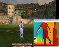 FIFA Controller using Microsoft Kinect