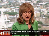 Helena Kennedy - Andrew Marr BBC1 Sunday May 26th