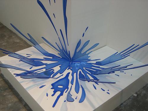 Escultura de cristal