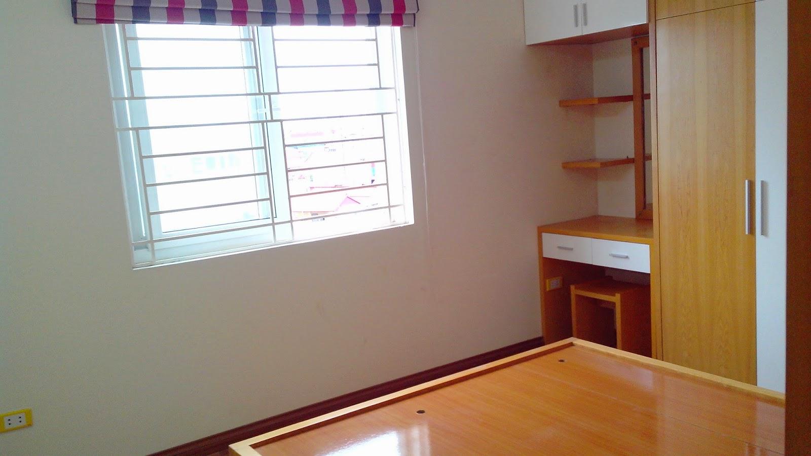 Nội thất hoàn thiện khi bàn giao nhà của chung cư mini Hồ Ba Mẫu giá rẻ