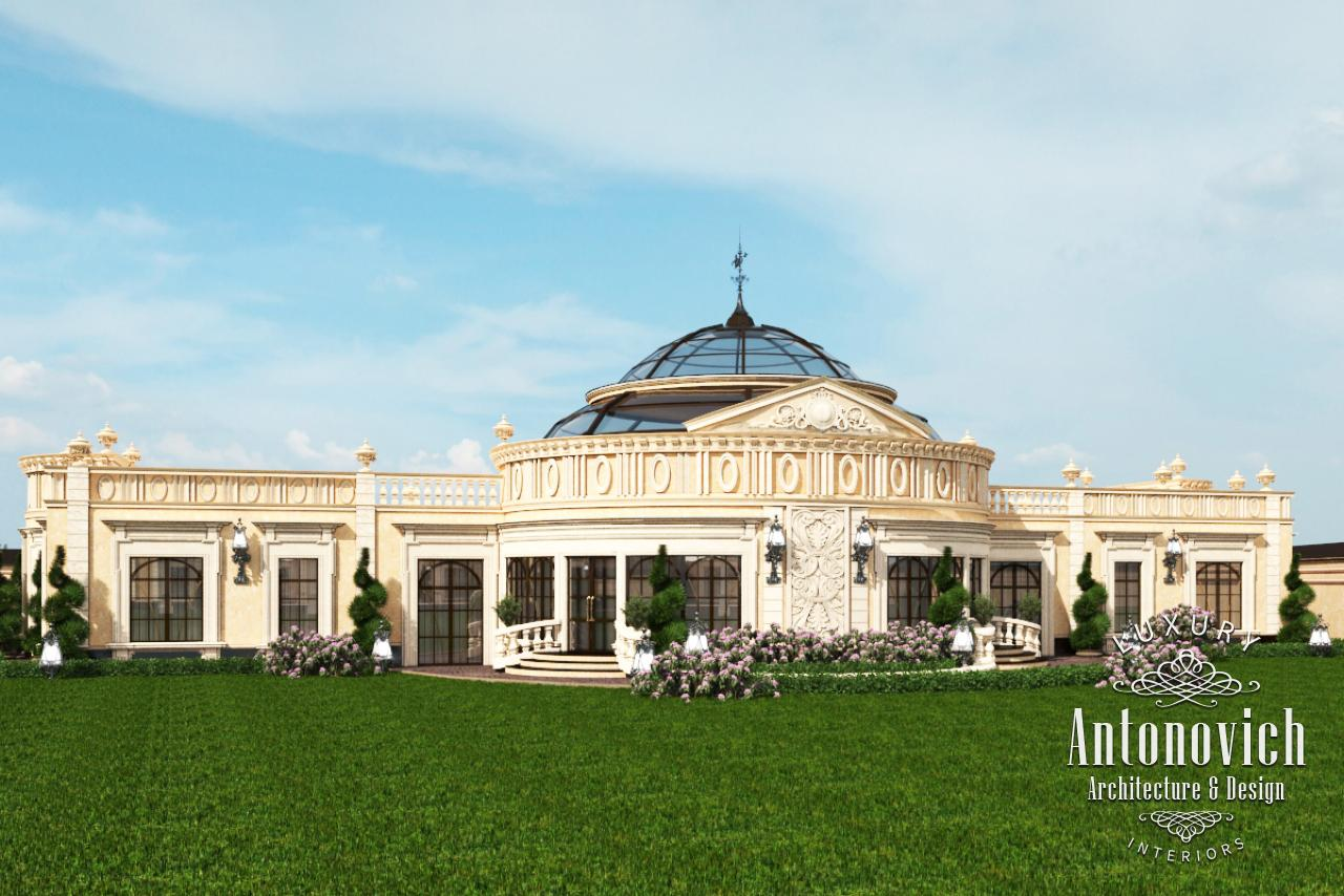 Luxury antonovich design uae 10 villa palace exterior for Palace design homes