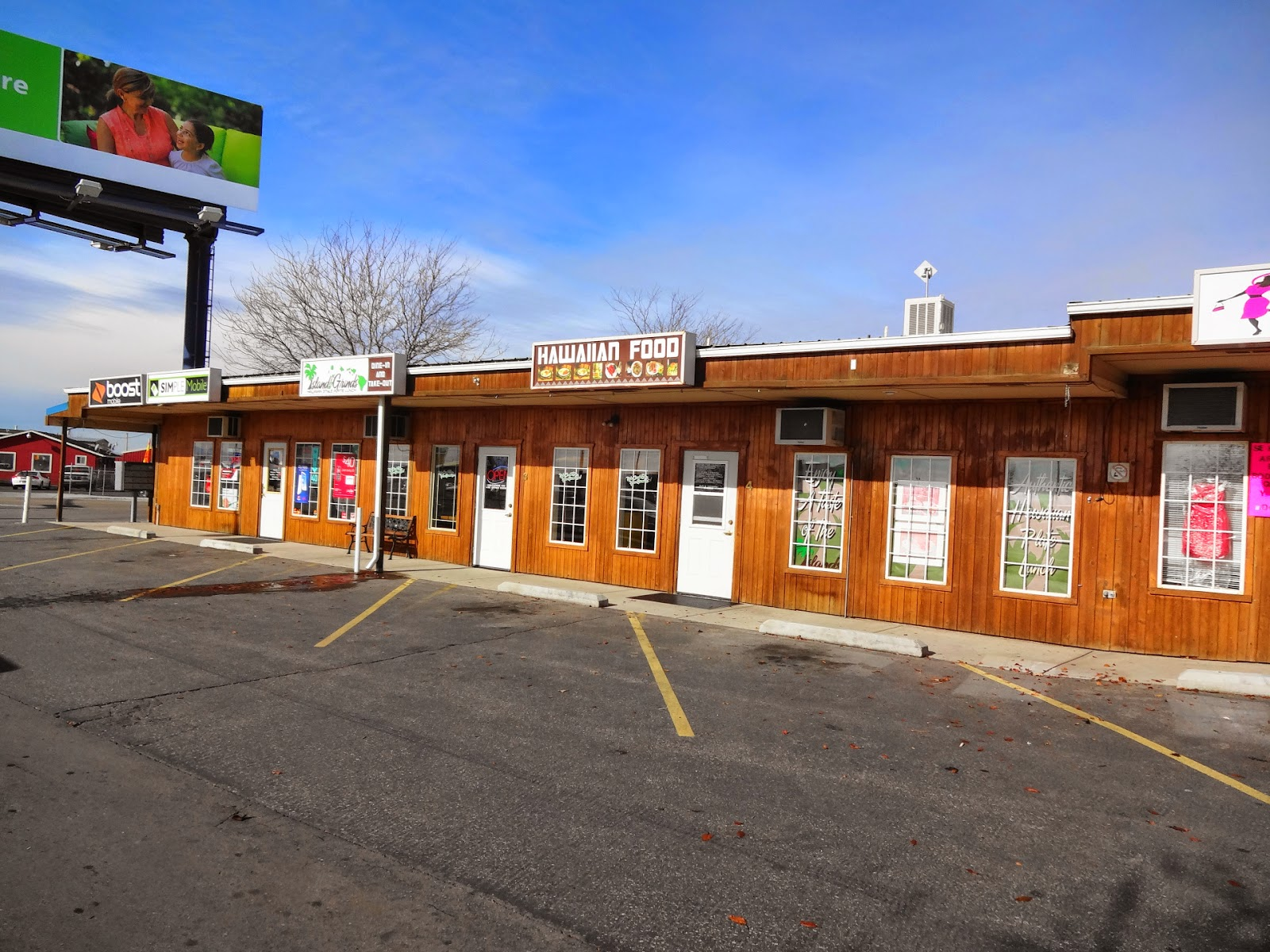 I Ve Mentioned That A Lot Of Restaurants In Nampa Tend To Not Pay Much Attention Their Exterior Earance But The Little Wooden Strip Mall Houses