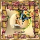 Lembrança da amiga, Evanir Garcia, pelo meu aniversário!