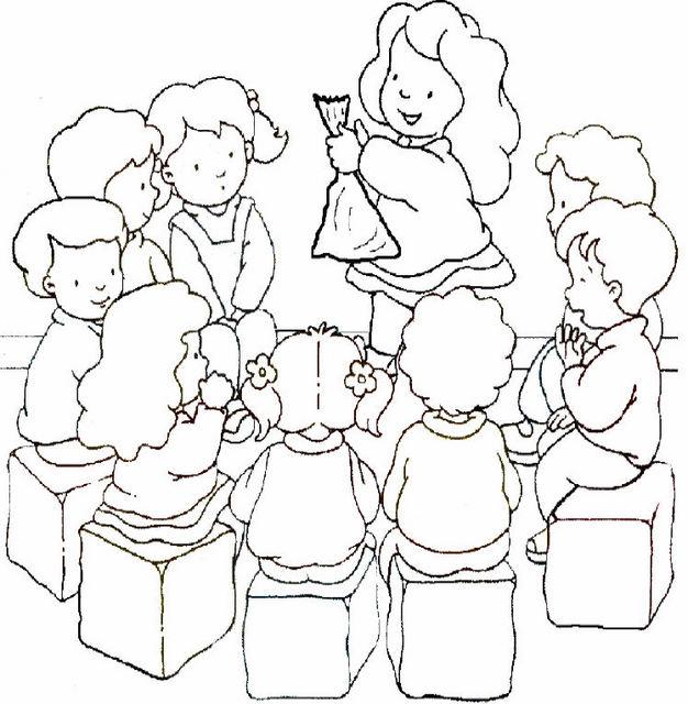 imagem desenho de crianças em grupo desenhos para colorir