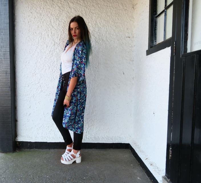 kimono spring outfit @ hayleyeszti