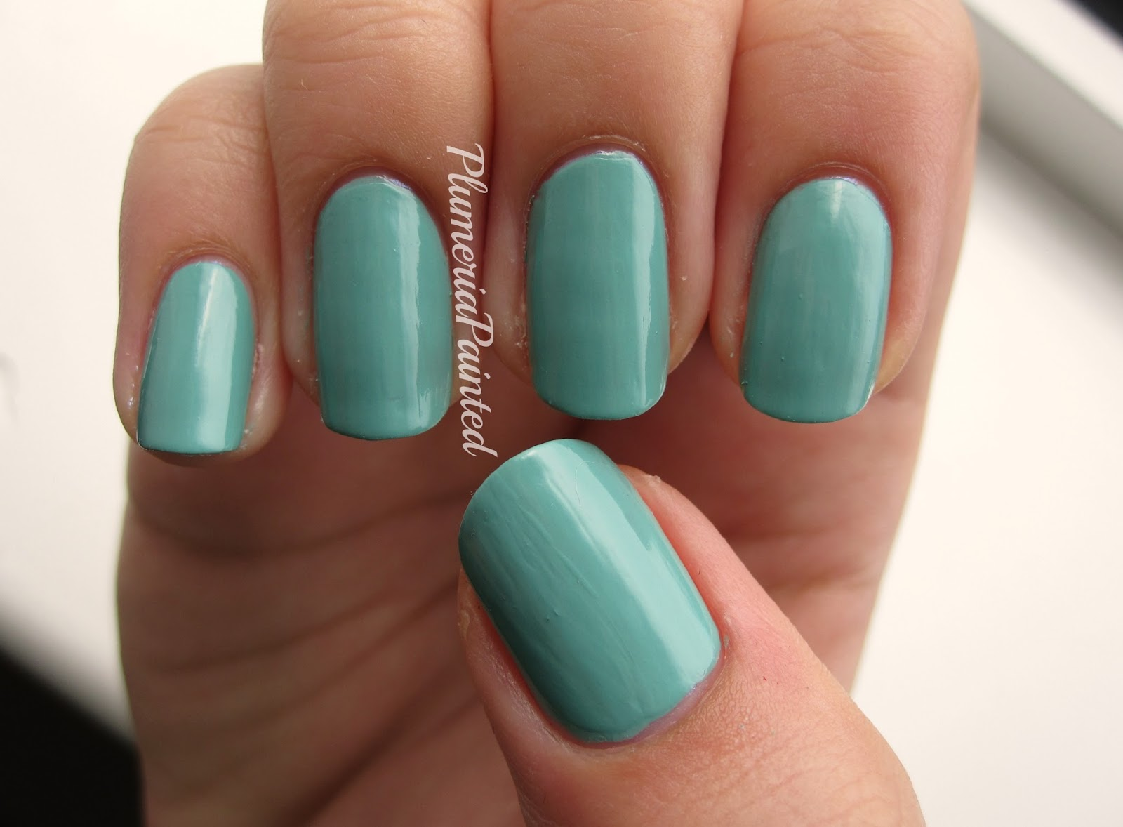 PlumeriaPainted: Green Nails: Max Factor - Cool Jade