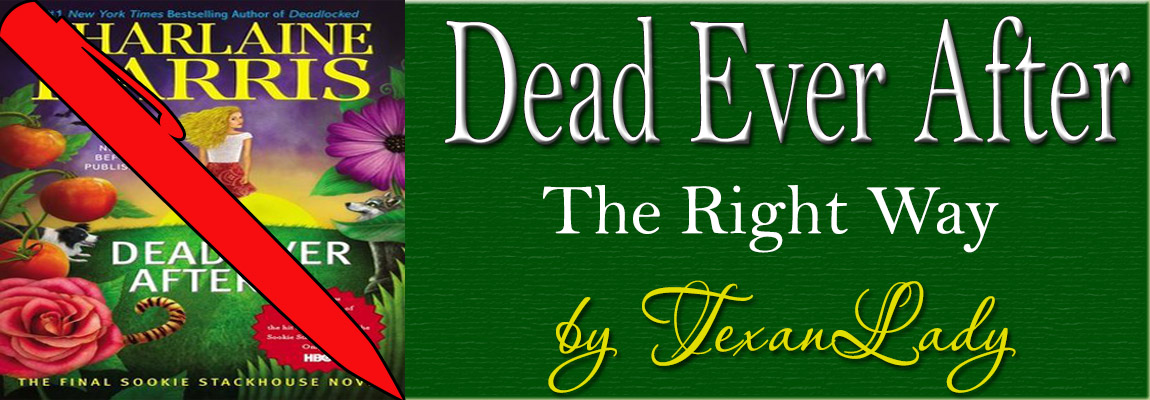 Dead Ever After: The Right Way