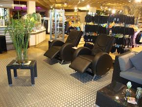 Münzmassagesessel schaffen eine Ruhezone in öffentlichen Einrichtungen