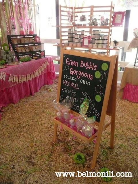 green bubble gorgeous, bel monili, country living fair, country living magazine, handmade soap, artisan soap