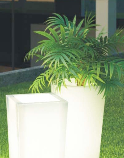 The shopping online pot lumineux decoration maison et for Pot deco jardin