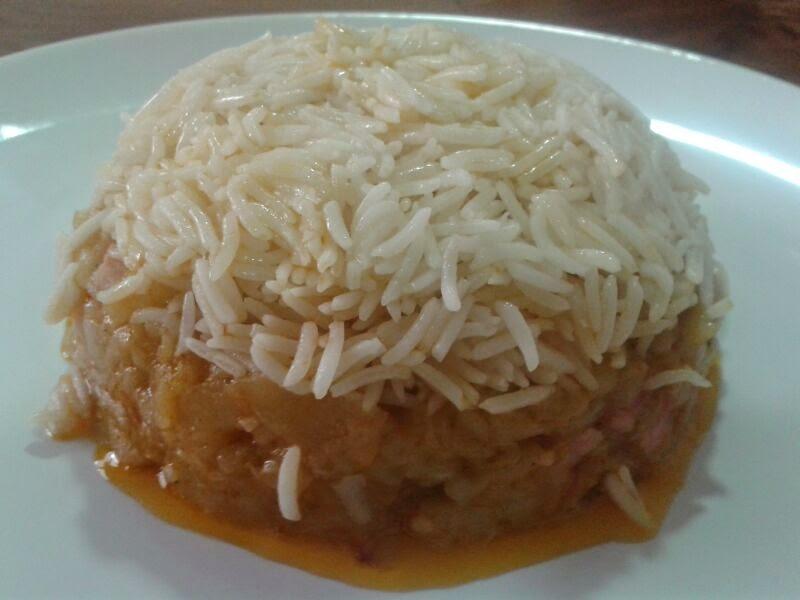 Las receticas de anica arroz basmati con berenjenas for Como cocinar arroz en microondas