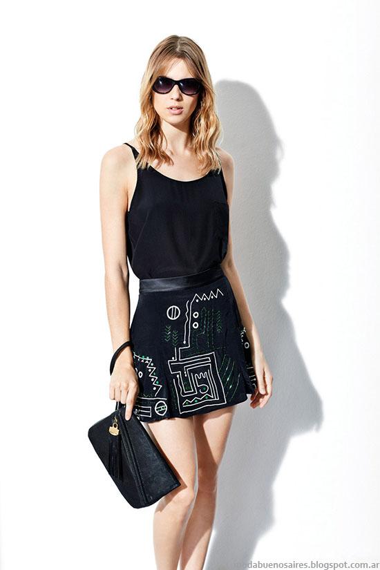 Mini faldas verano 2015. Moda verano 2015 Vitamina.