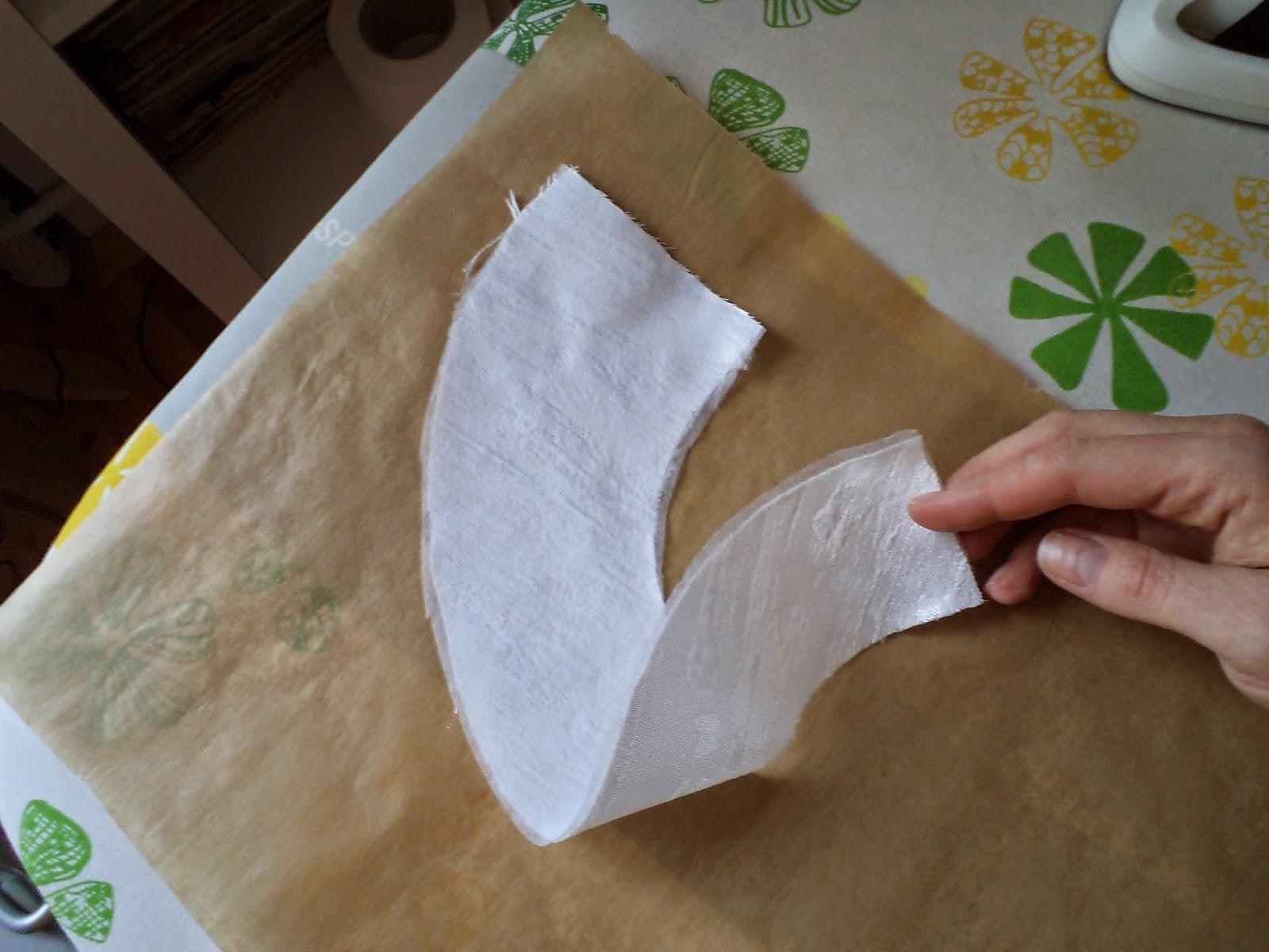 wykrój na asymetryczny kołnierzyk, kingaszyje.blogspot.com