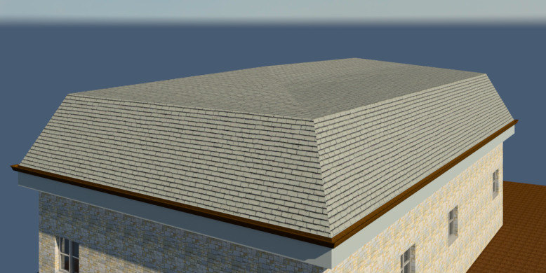 Tms Cad Autodesk Bim In Scotland How To Create A Mansard Roof