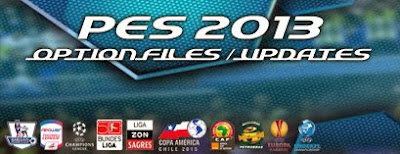 Option File PES 2013 untuk Sun Patch 4.0 Update 14 Juli 2015
