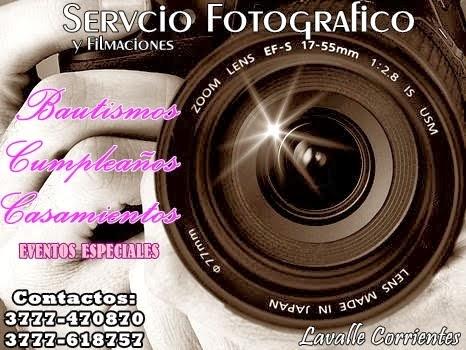 SERVICIO FOTOGRÁFICO