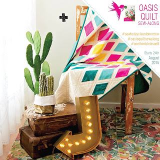 Oasis Quilt Sew Along with One Thimble