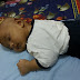 1st time Baby Fattah Anas Demam