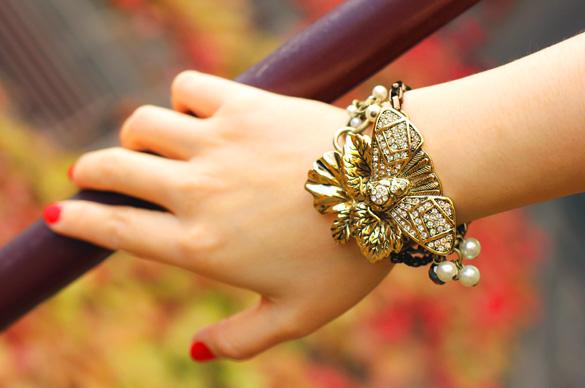 Mimco Gold Moth Bracelet