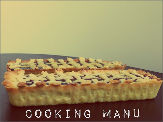tart ai mirtilli - blueberries tart-