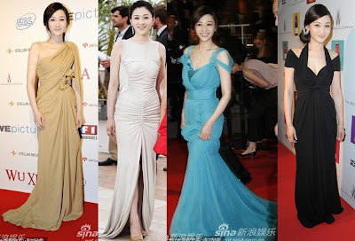 Fashionable Asians at Cannes Film Festival