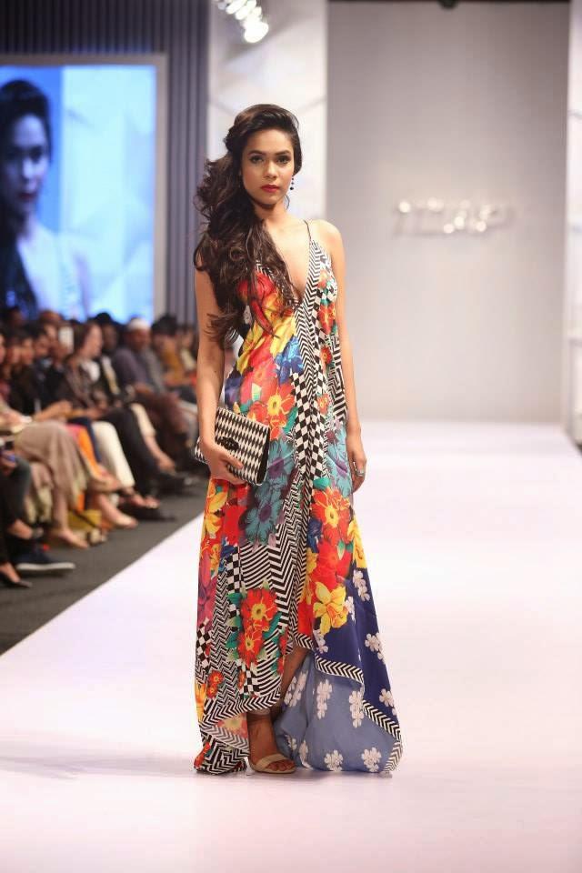Pakistani designer spring collection 2015