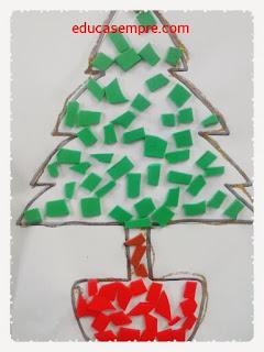 Árvore de natal para mural