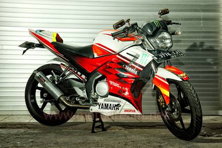 Foto Modifikasi Yamaha New Vixion 2013