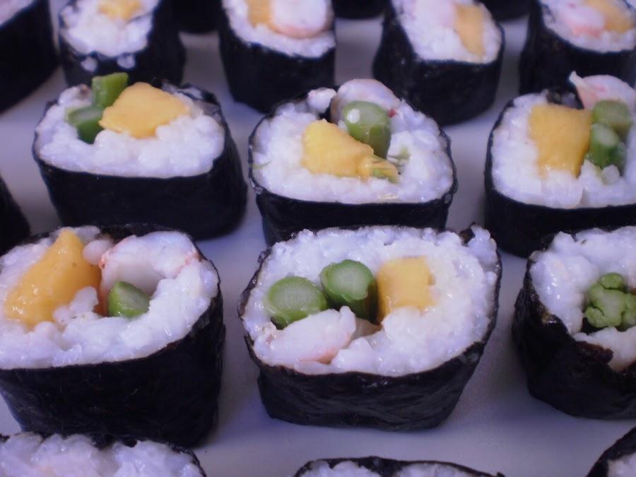 8 recetas de sushi casero cocina for Comida rapida para invitados