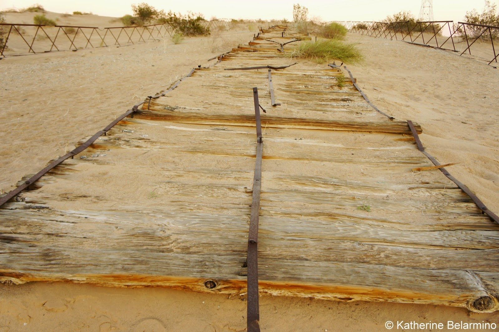 The plank road of southern california