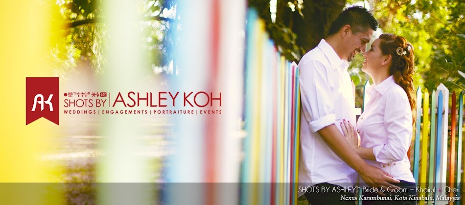 SHOTS BY ASHLEY™ | Destination Wedding & Portraits Photographer | Sabah | Malaysia