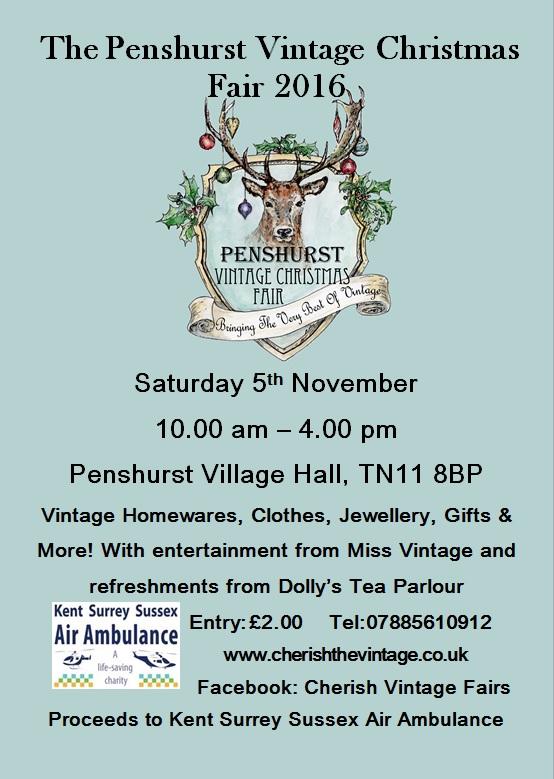Penshurst Vintage Christmas Fair 2016